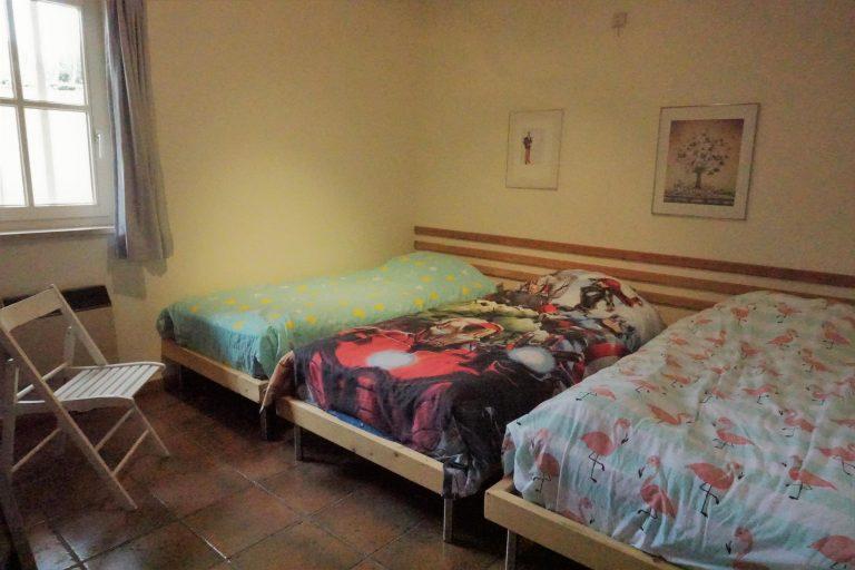 3-persoons slaapkamer